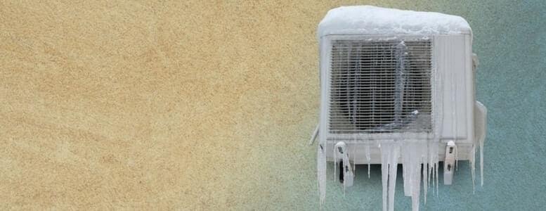 AC Unit Freezing up at Night